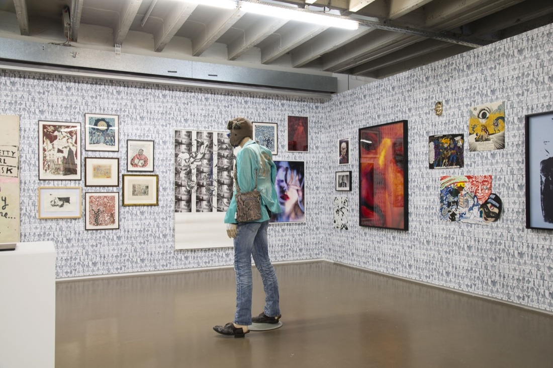 Installation view of David Zwirner's booth at Independent Brussels, 2017. Courtesy of Independent Brussels.