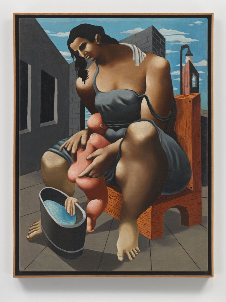 Philip Guston, Mother and Child , 1930. © The Estate of Philip Guston. Courtesy of the Estate and Hauser & Wirth.