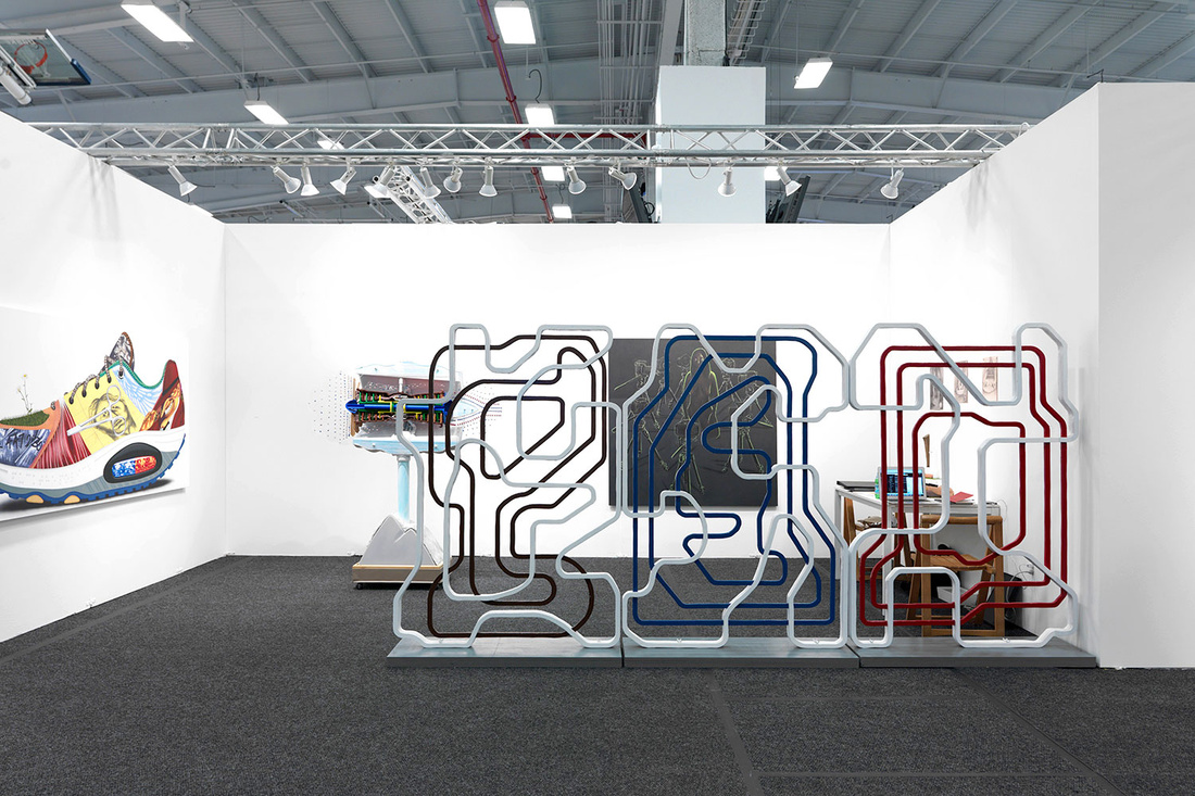 Installation view of 247365's booth at NADA New York, 2016.Photo by Object Studies for Artsy.