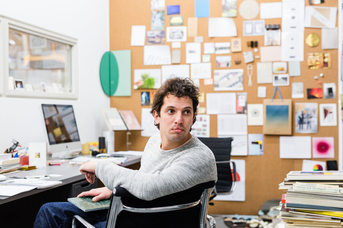Portrait of Lex Pott in his Amsterdam studio by Jordi Huisman for Artsy.