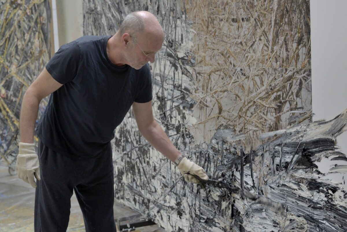 Portrait of Anselm Kiefer. Photography by Charles Duprat. Courtesy Gagosian.