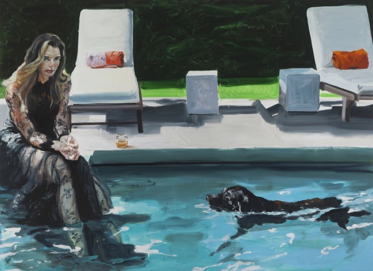 Eric Fischl, Daddy's Gone, Girl, 2016. Courtesy of the New York Academy of Art.
