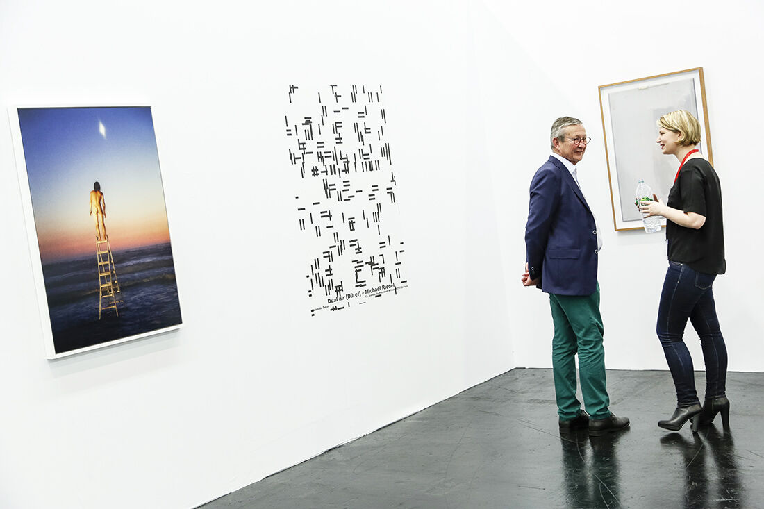 Bischoff Projects Booth at Art Cologne 2015. Photo © Koelnmesse.