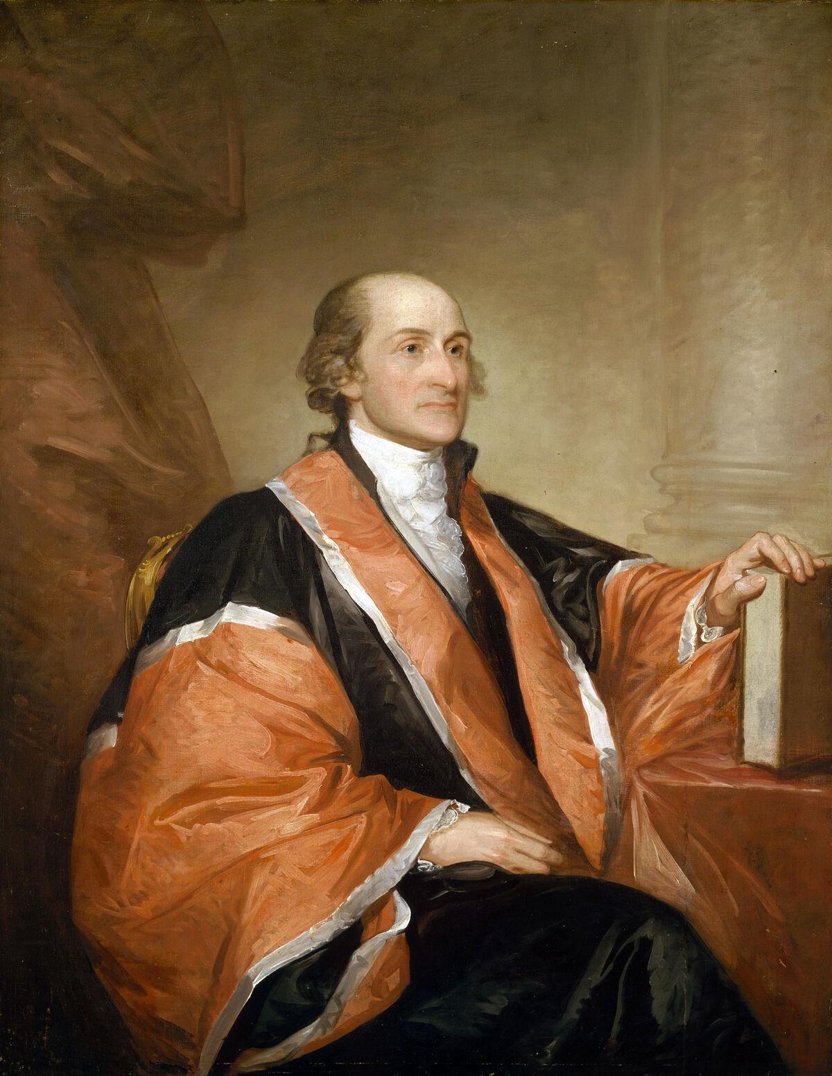 Gilbert Stuart, John Jay, 1794. Image via Wikimedia Commons.