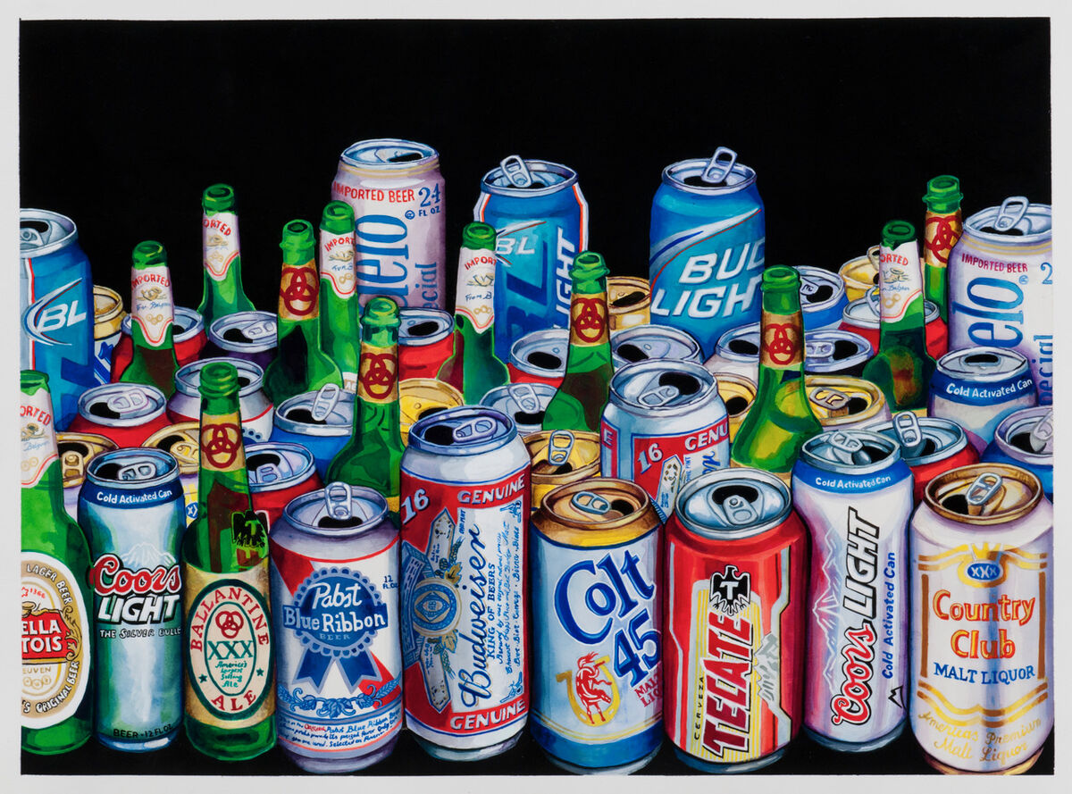Tom Sanford, 50 Beers, 2010. Courtesy of the artist.