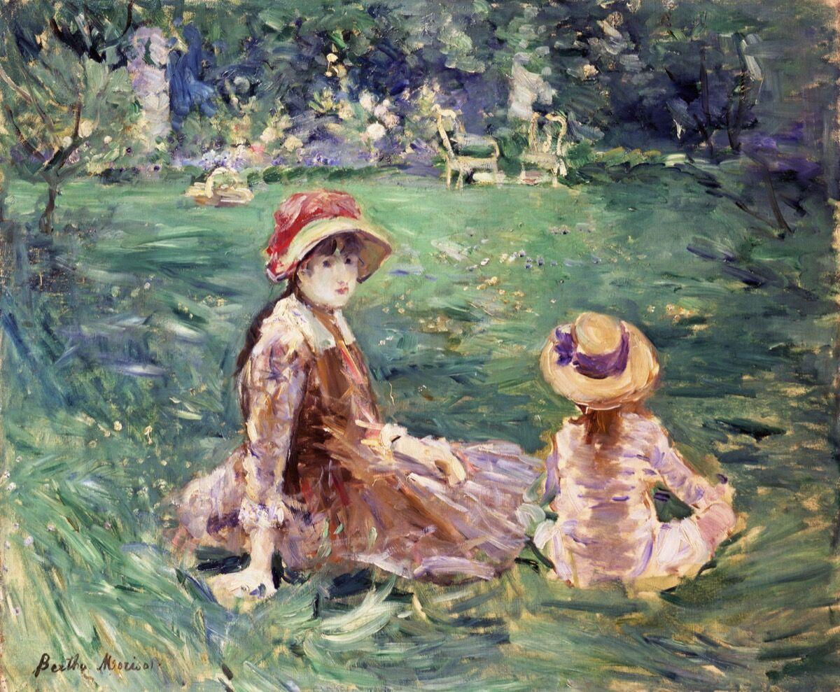 Berthe Morisot, The Garden at Maurecourt, ca. 1884. Courtesy of the Toledo Museum of Art.