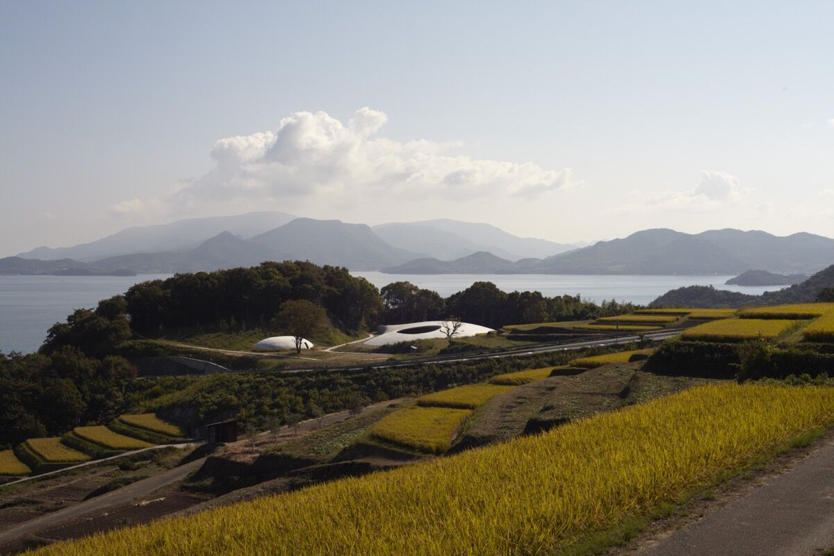 Photo by Noboru Morikawa, courtesy of Teshima Art Museum.