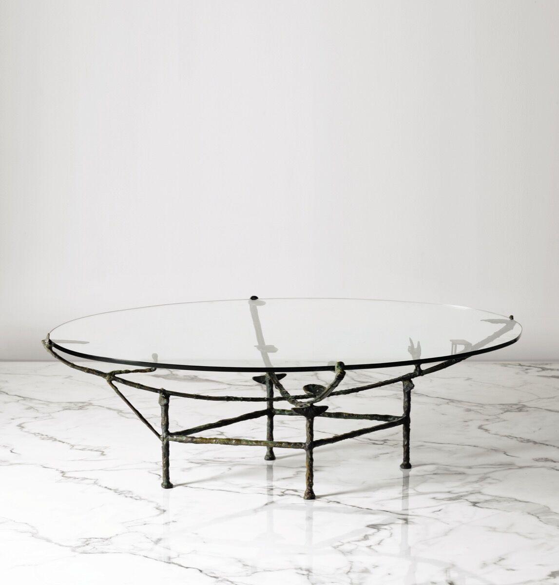 Diego Giacometti, Table Carcasse à la chauve-souris, circa 1970. Image courtesy of Sotheby's – Art Digital Studio.