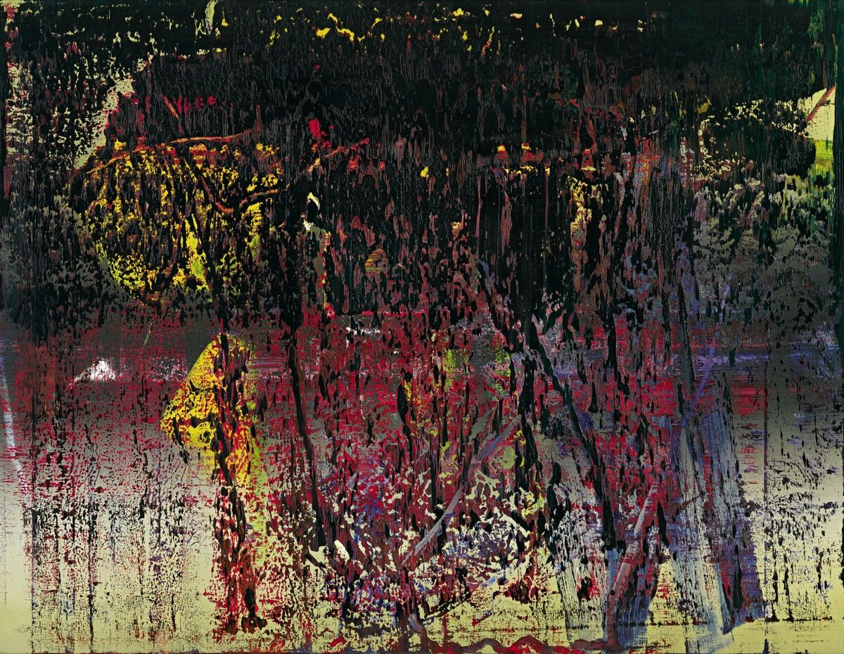 Gerhard Richter, A B, St. James, 1988. © Gerhard Richter, 2016. Image courtesy of Sotheby's.