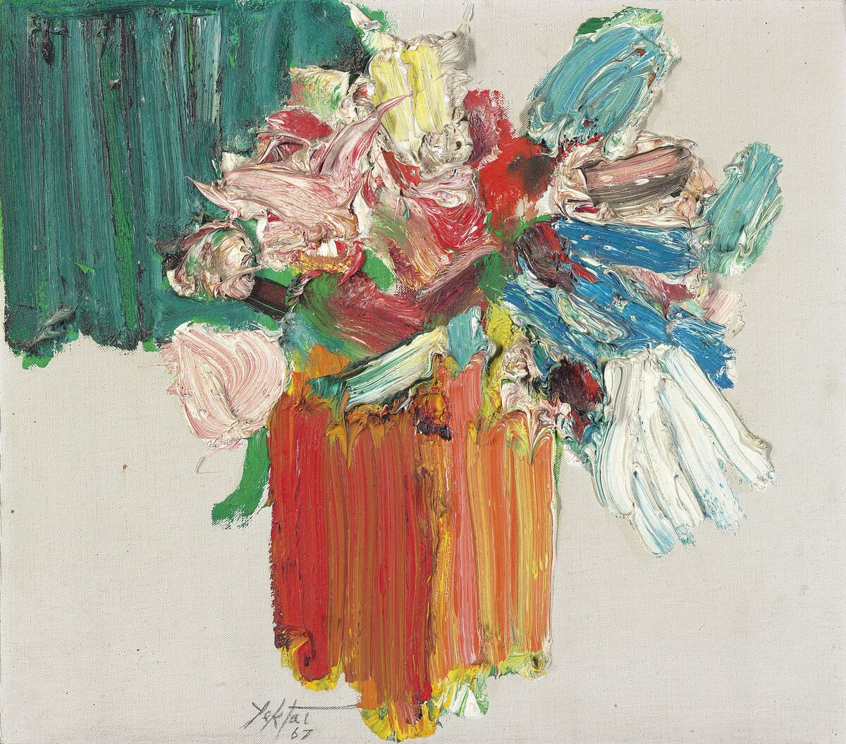 Manoucher Yektai,Untitled(1967;est. $20,000–30,000). Image courtesy Christie's.