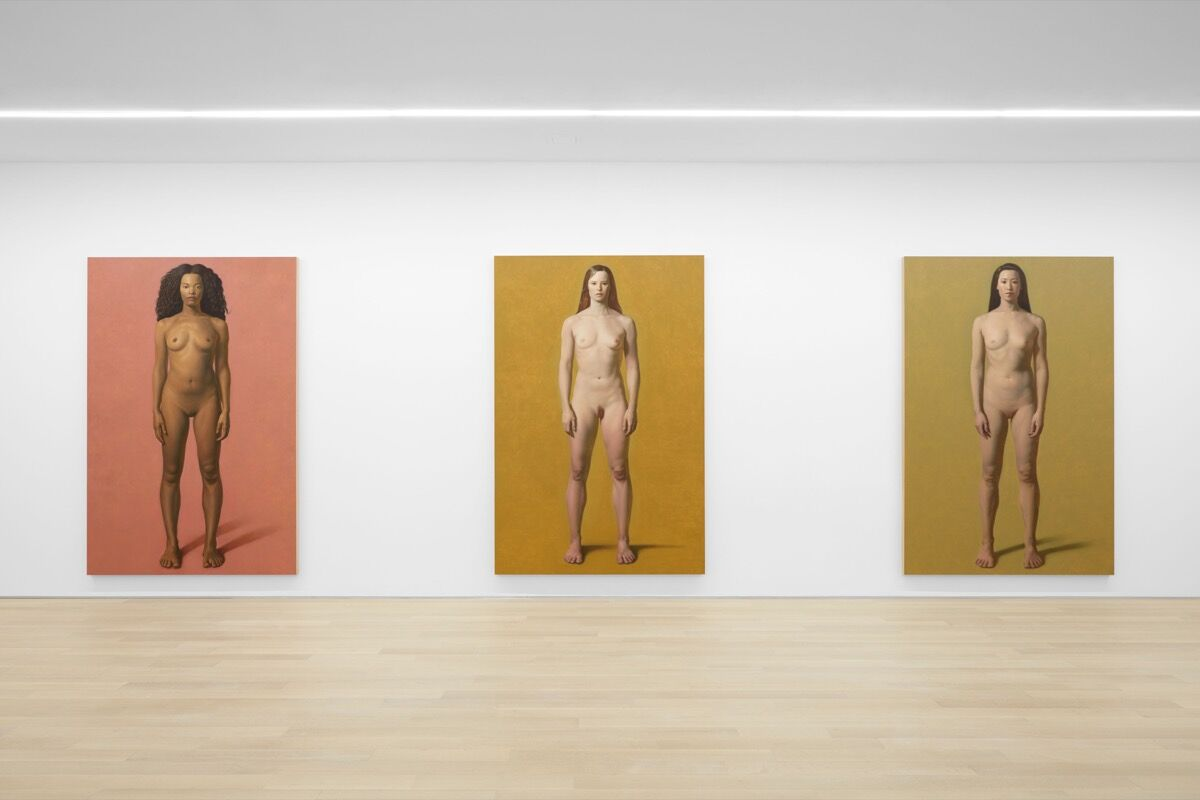 "Installation view of Kurt Kauper, ""Women,"" at Almine Rech Gallery. Courtesy of Almine Rech Gallery."
