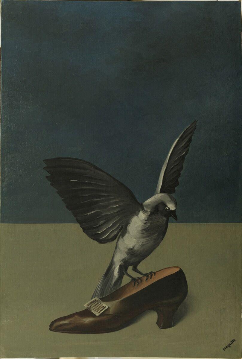 René Magritte, God is not a Saint, 1935-36. © 2017, Succession René Magritte. Courtesy of SABAM.