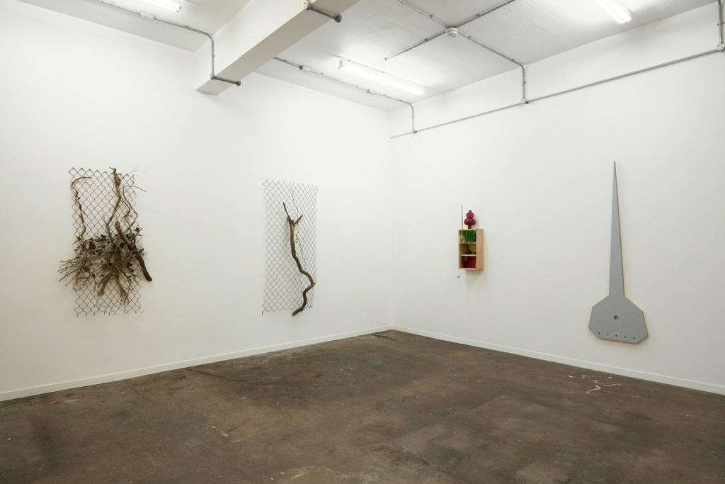 """Installation view of """"Obect Painting – Painting Object,"""" courtesy Jonathan Viner."""
