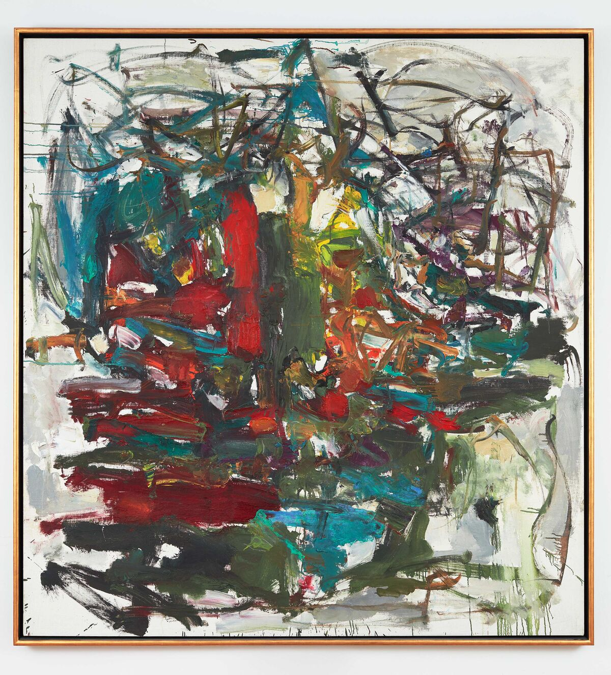 Joan Mitchell, Untitled, 1959. © Estate of Joan Mitchell. Photo by Johnna Arnold. Courtesy of Lévy Gorvy.