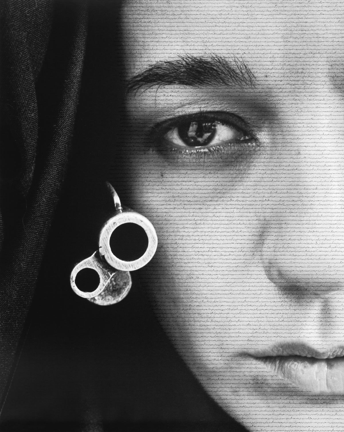 Shirin Neshat, Speechless,  1996. © Shirin Neshat. Courtesy of the artist and Gladstone Gallery, New York and Brussels.