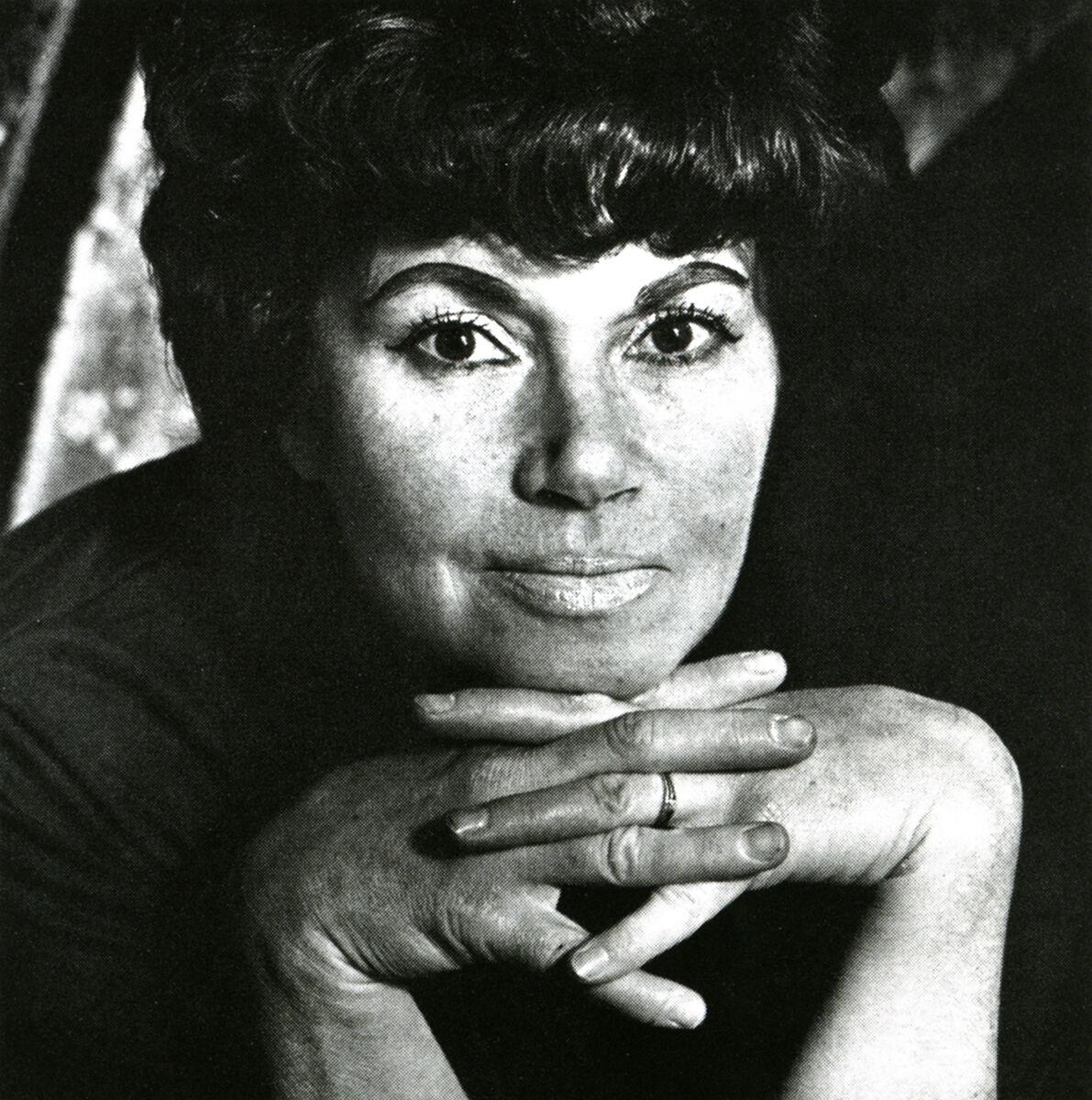 Mimi Jacobs, Jay DeFeo, 1976. © Mimi Jacobs.
