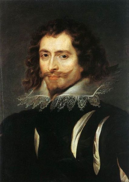 Peter Paul Rubens, Portrait of George Villiers, First Duke of Buckingham, ca. 1625. Photo via Wikimedia Commons.