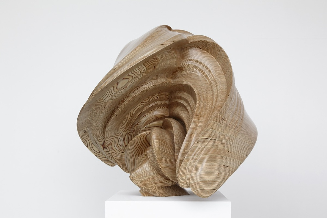 Tony Cragg, Willow, 2014. Photo by Michael Richter.© Tony Cragg, courtesy of Lisson Gallery.