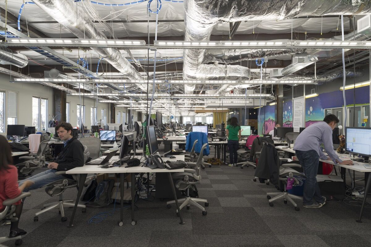 Facebook's Menlo Park Headquarters. Courtesy of Facebook.