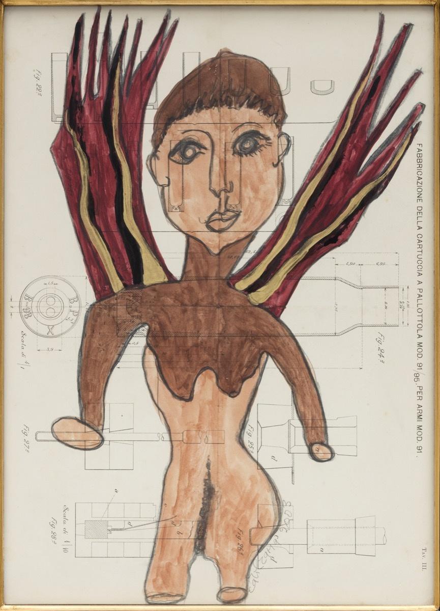 Carol Rama, Epifania, 2003. Photo by Andrea Rossetti. Courtesy of New Museum.
