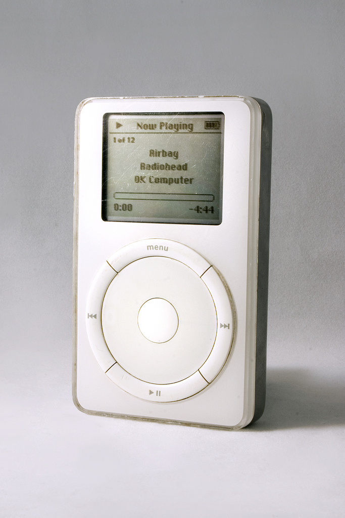 iPod, 2002. Photo by Chris Murphy, via Flickr.