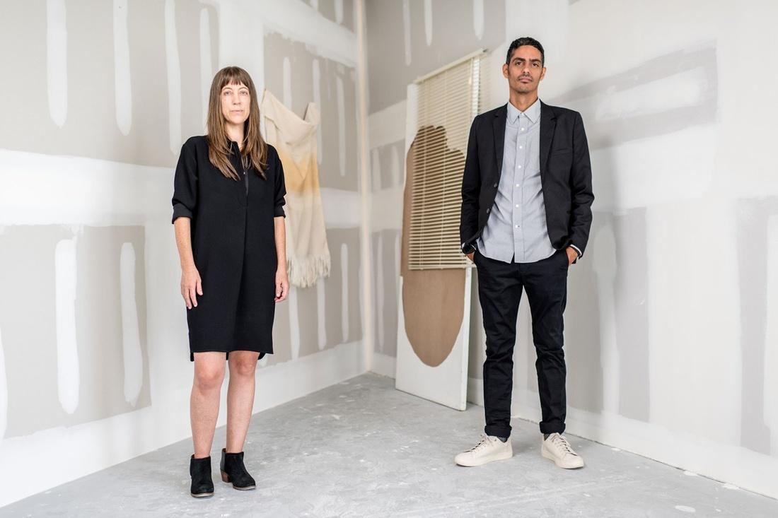 Leyden Rodriguez-Casanova and Frances Trombly. Photo courtesy of Dimensions Variable.
