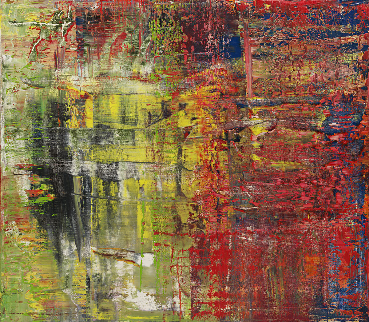 Gerhard Richter, 940-8 Abstraktes Bild, 2015. Image courtesy of the artist and Marian Goodman Gallery.