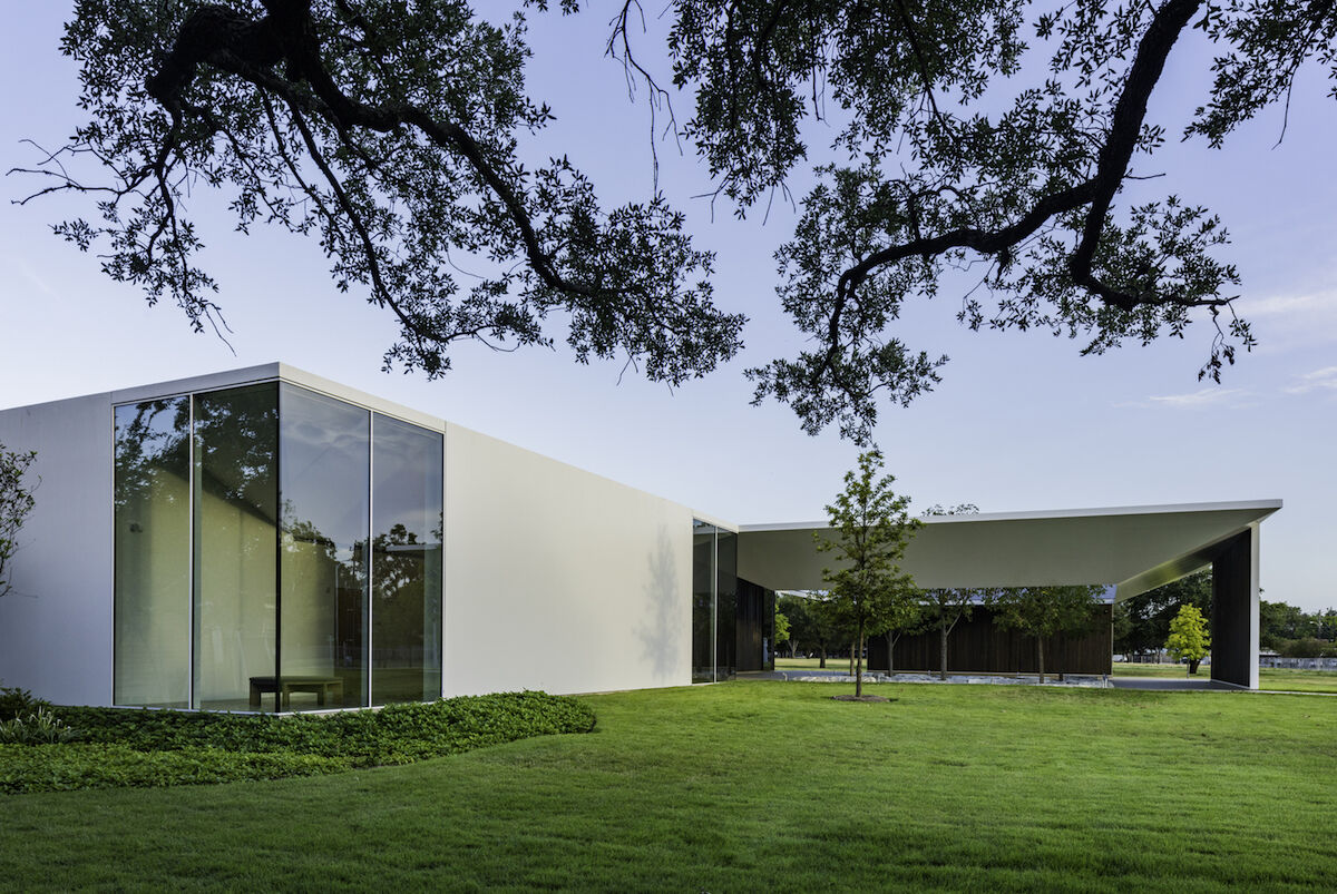 The Menil Drawing Institute. Photo by Richard Barnes, courtesy the Menil Collection, Houston.