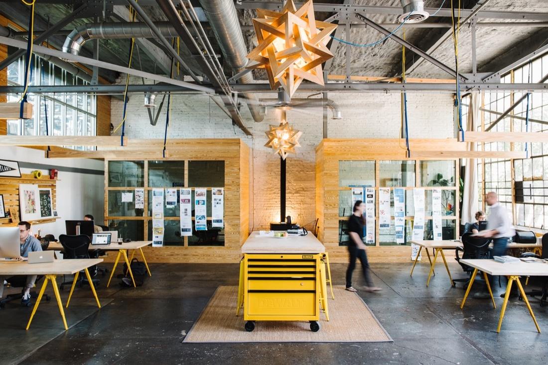 Digital Design and Brand Studio at The Goat Farm. Photo by Edgar Allan. Courtesy of The Goat Farm.