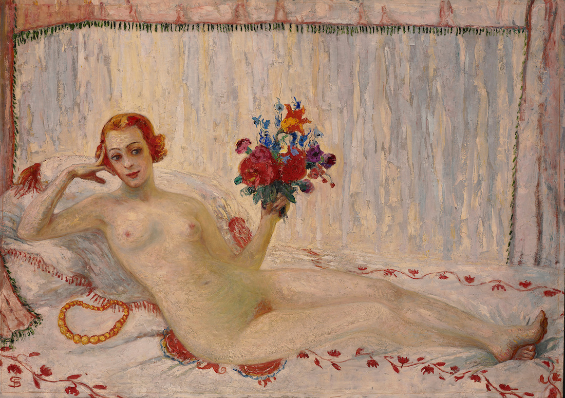 Florine Stettheimer, A Model (Nude Self-Portrait), 1915. Courtesy of the Jewish Museum.