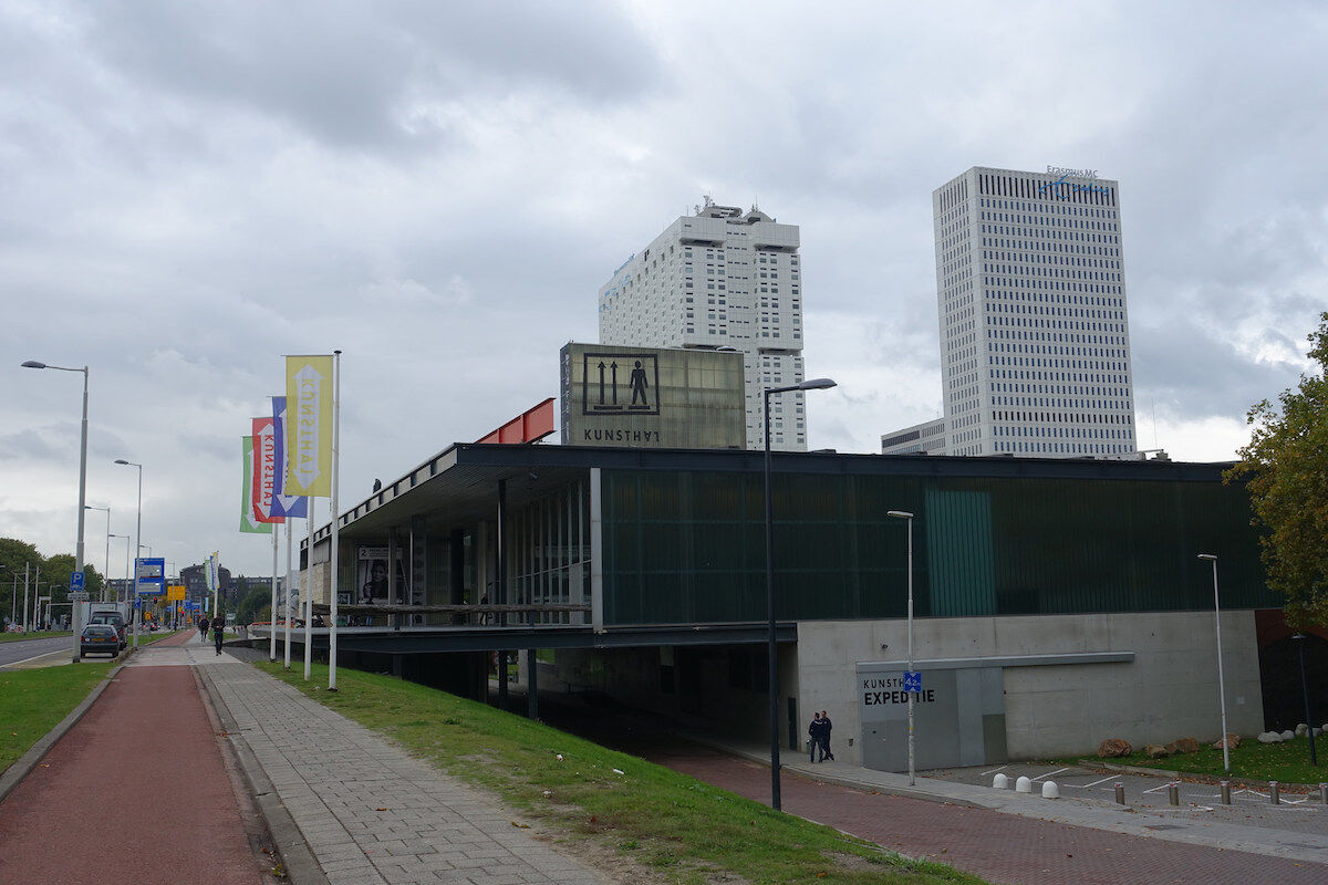 The Kunsthal Rotterdam museum, from which Pablo Picasso's Harlequin Head (1971) was stolen in a 2012 heist. Photo by Guilhem Vellut