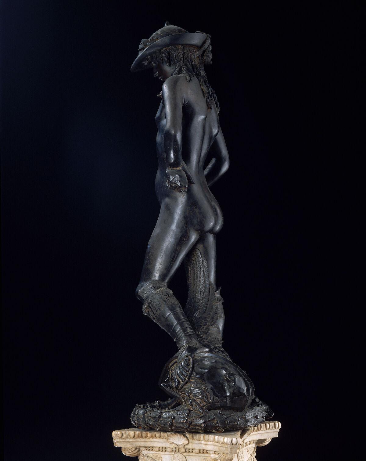 Donatello, David, 1428–1432. Photo © Arte & Immagini srl/CORBIS/Corbis via Getty Images.