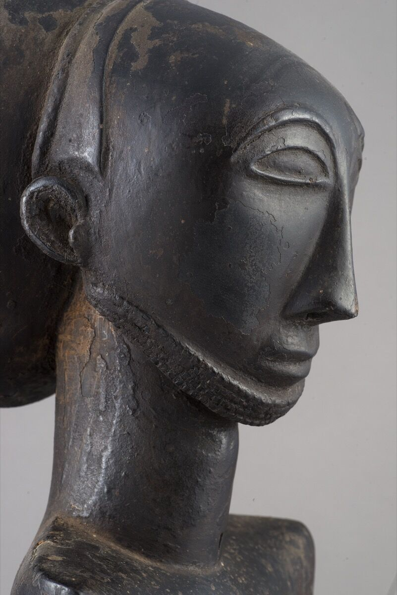 Detail of Hemba people, Commemorative figure, Democratic Republic of the Congo, probably 19th century. Photo by Luigi Spina. Courtesy of 5Continents Editions.