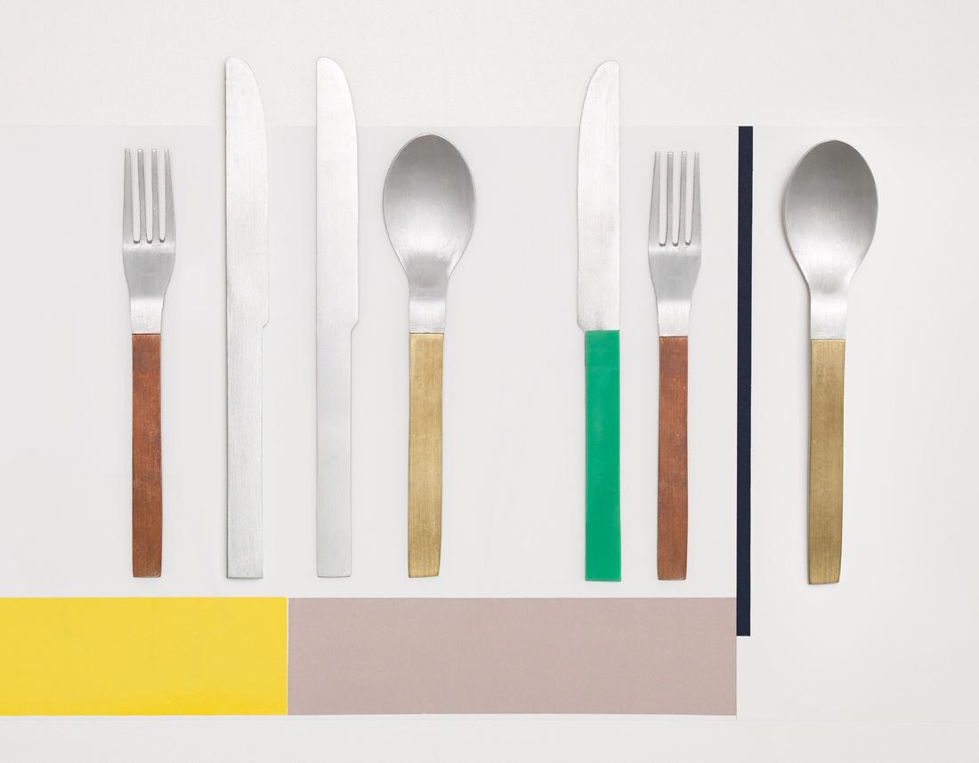 Muller Van Severen, The Cutlery Project, Valerie Objects.Photo byFrederik Vercruysse. Courtesy Muller Van Severen
