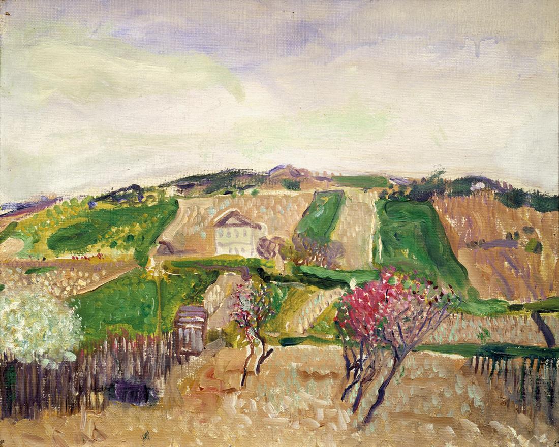 Gerstl, Grinzing, 1906. Courtesy of Galerie St. Etienne, New York.