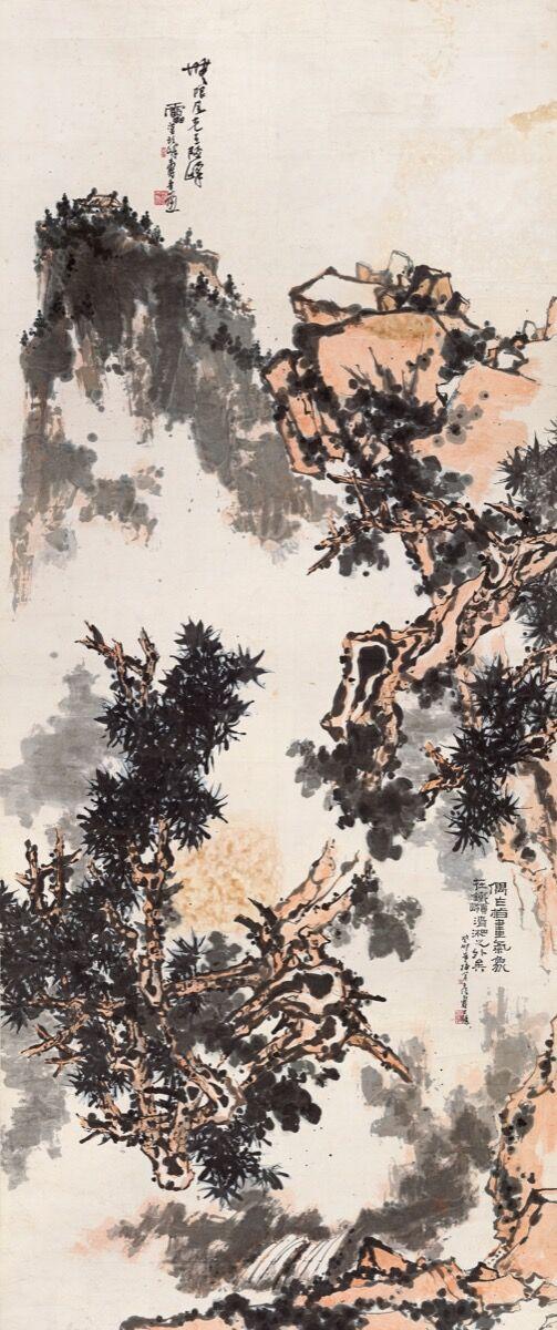 Pan Tianshou, 无限风光,. Courtesy of China Guardian Auctions Co., Ltd.