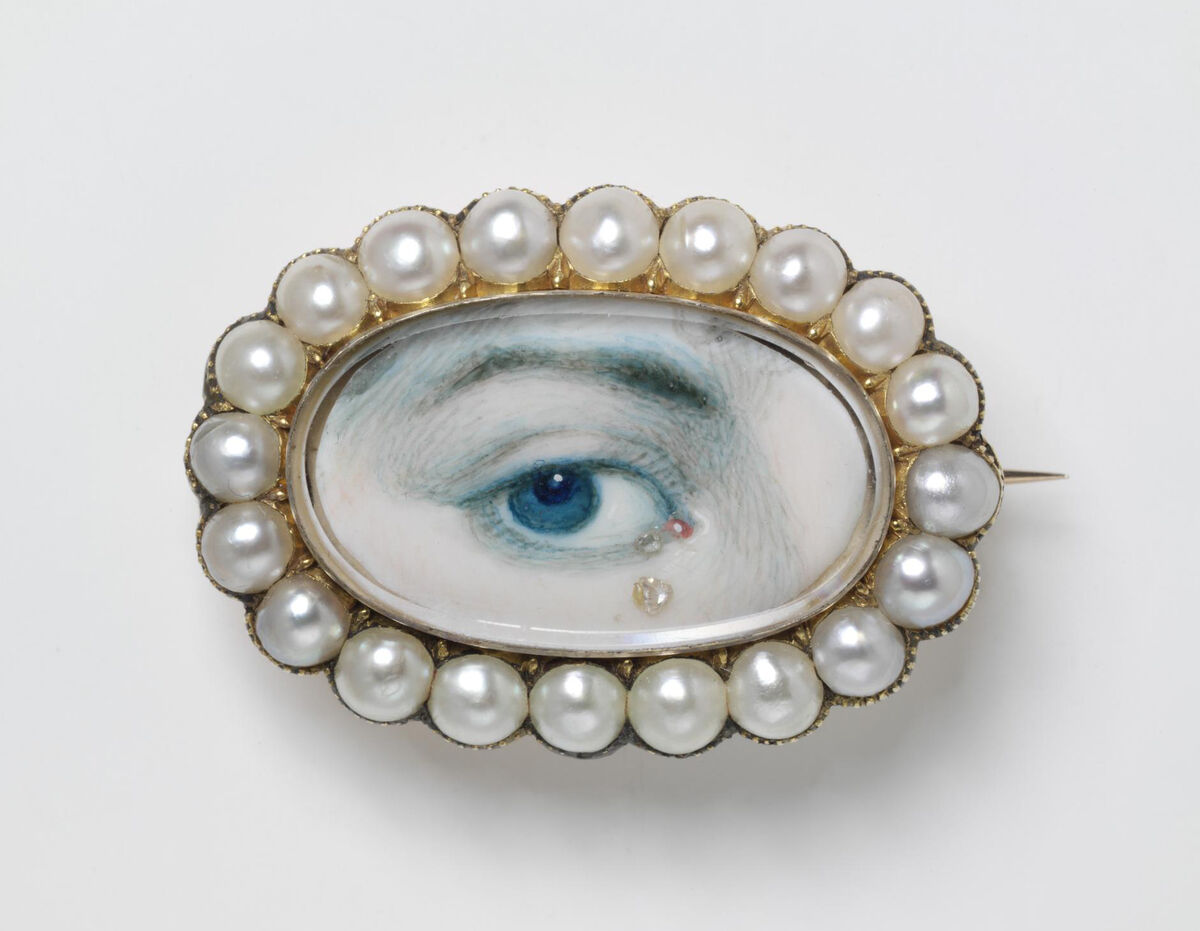 Eye Miniature, early 19th century. © Victoria and Albert Museum, London.