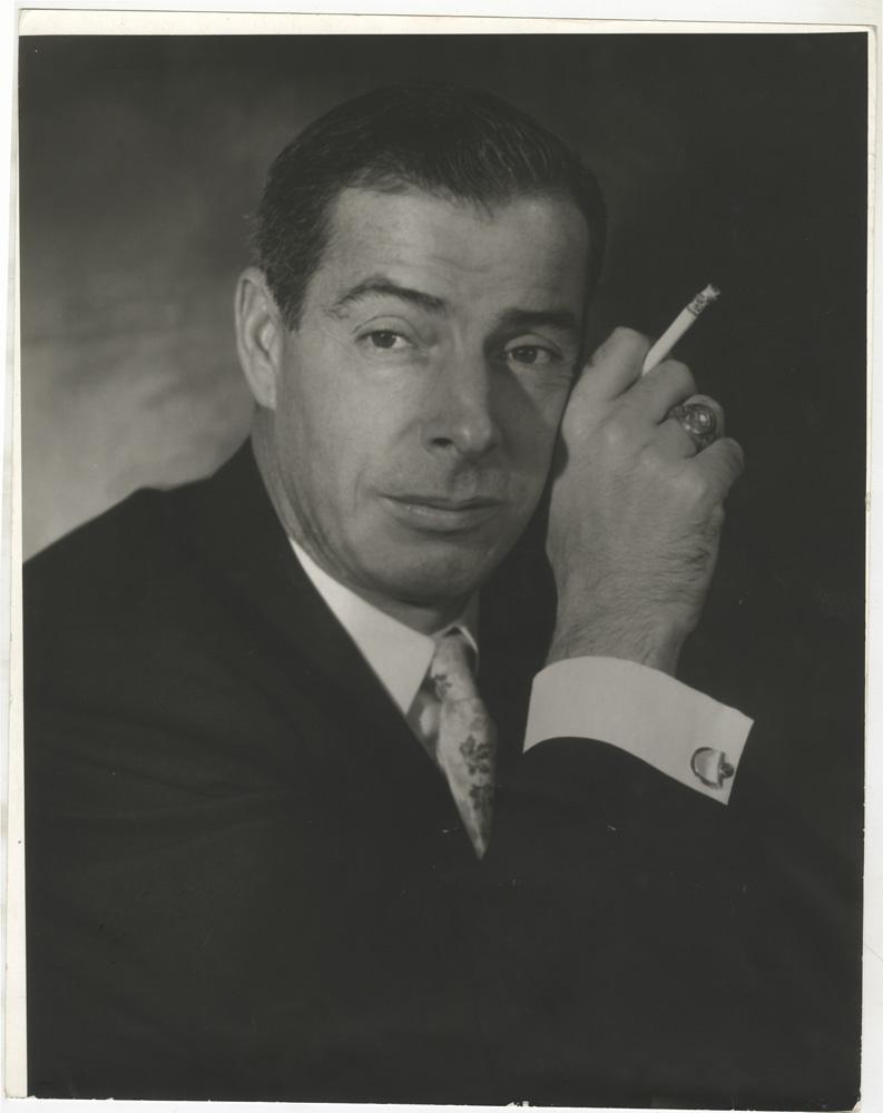 Editta Sherman, Joe DiMaggio, undated. Courtesy of the New York Historical Society Museum & Library.