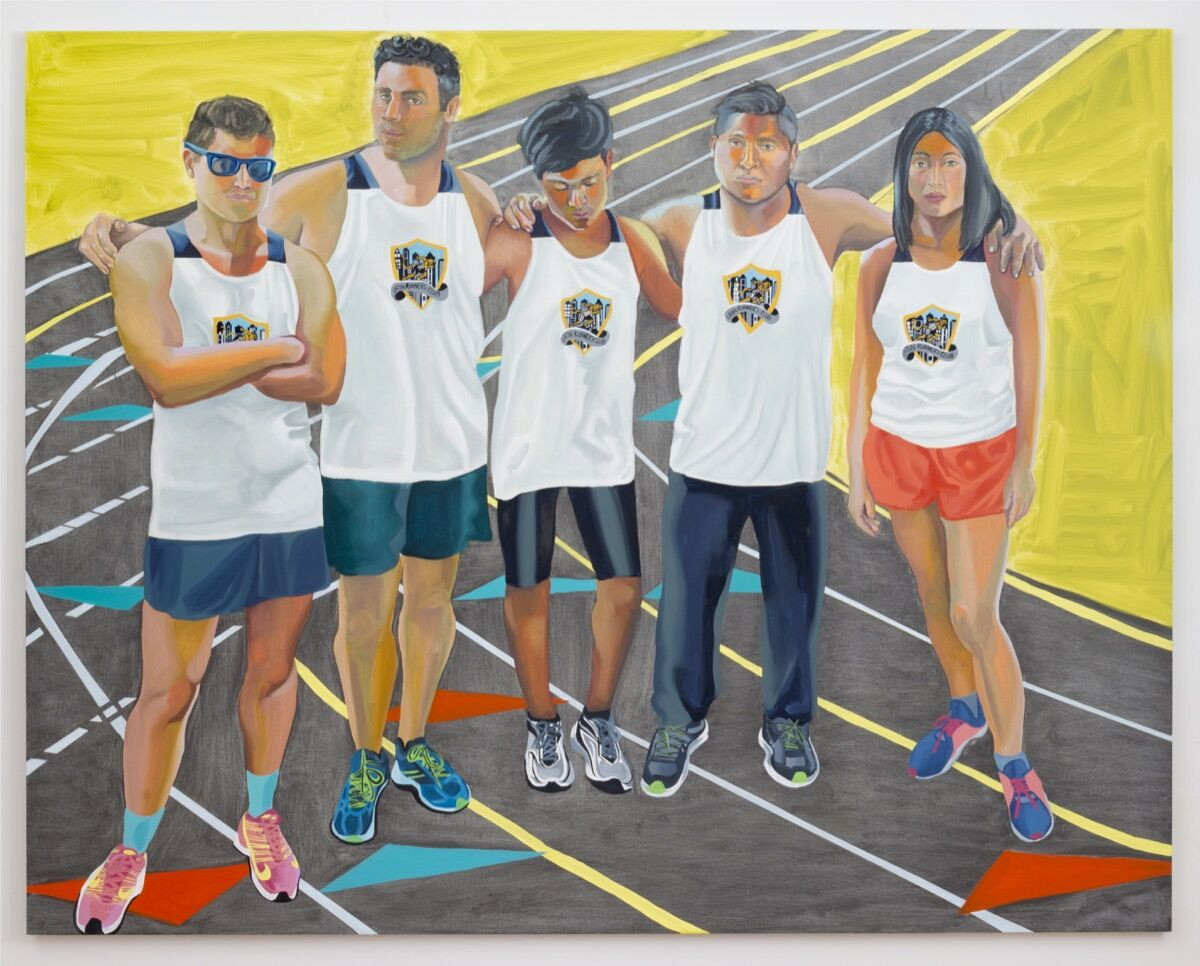 Aliza Nisenbaum, Latin Runners Club, 2016. Courtesy of the artist, and Mary Mary, Glasgow.
