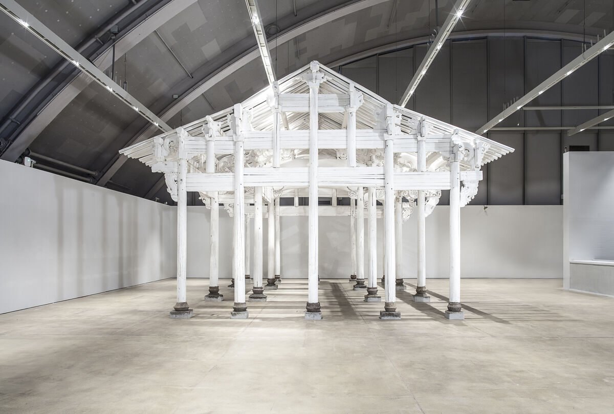 Installation view of Ai Weiwei, White House, 2015, at HAM Helsinki. © Ai Weiwei, photo: HAM / Maija Toivanen.