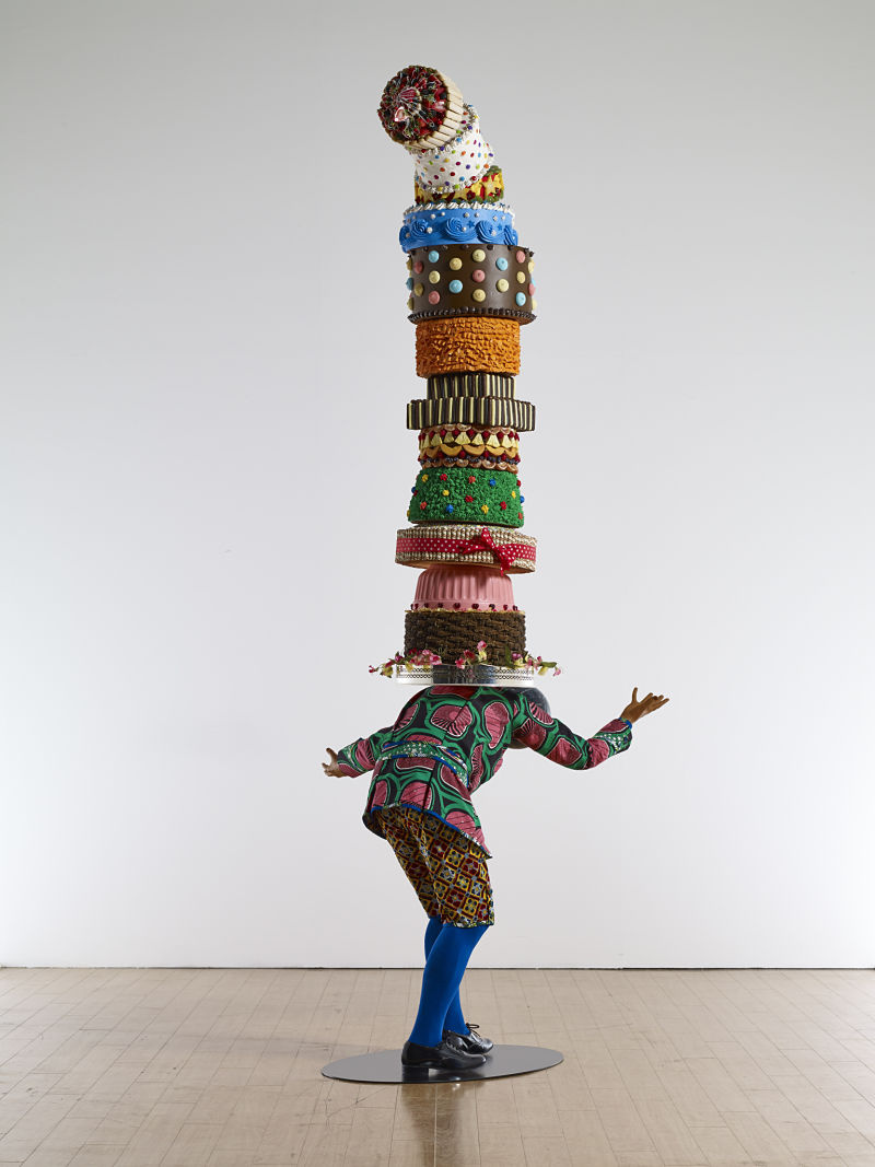 Yinka Shonibare MBE,Cake Kid, 2014.Courtesy Pearl Lam Galleries and the artist.