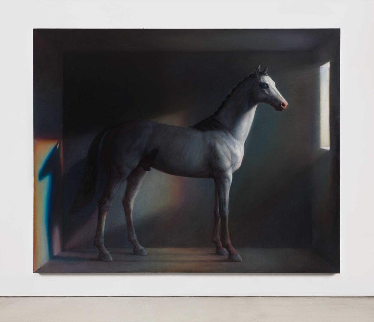 TM Davy, horse (x), 2016. Courtesy of the artist and Van Doren Waxter, New York.