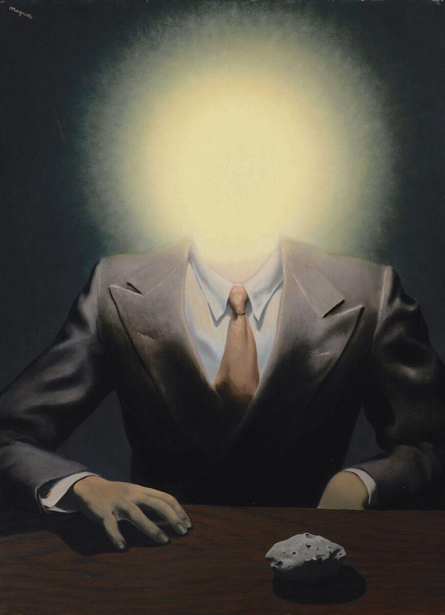 René Magritte, Le Principe du Plaisir, 1937. Courtesy of Sotheby's.