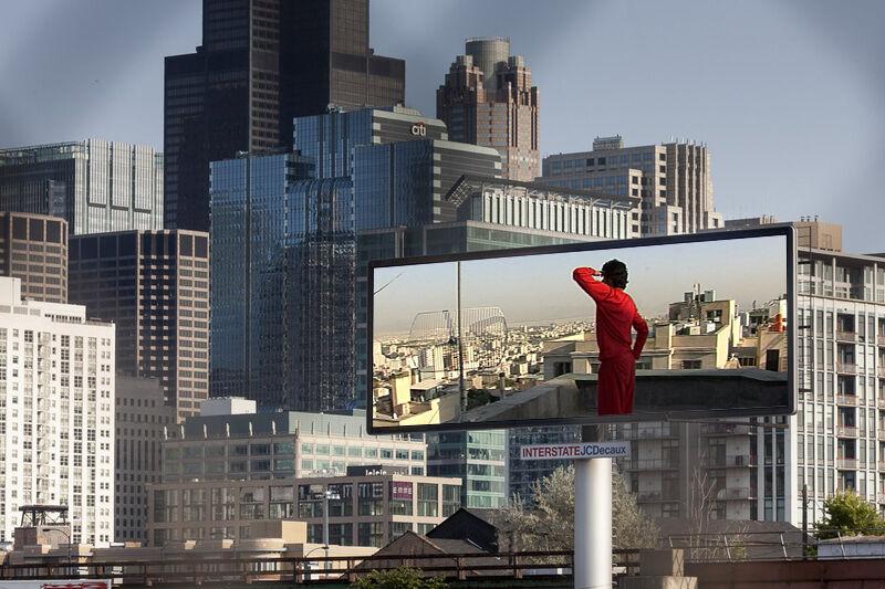 Anahita Razmi, Roof Piece Tehran, 2011. Carbon 12, Dubai.