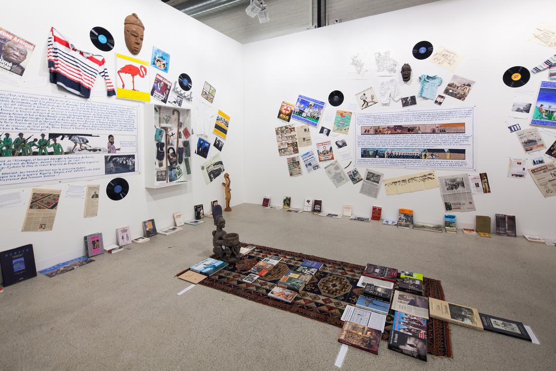 Wien Lukatsch at Art Basel 2015. Photo by Alec Bastian for Artsy.