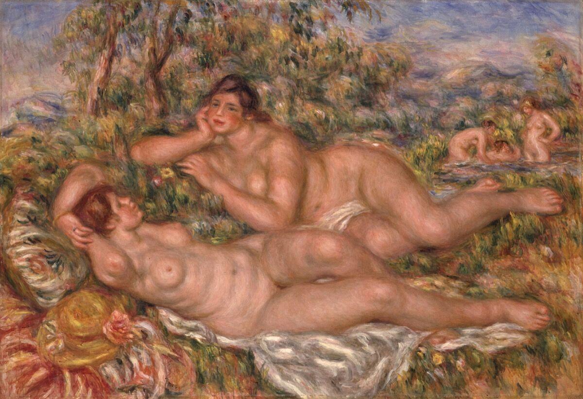 Pierre-Auguste Renoir, The Bathers (Les Baigneuses), 1919. © RMN-Grand Palais (Musée d'Orsay) / Hervé Lewandowski. Courtesy of Musée d'Orsay, Paris.