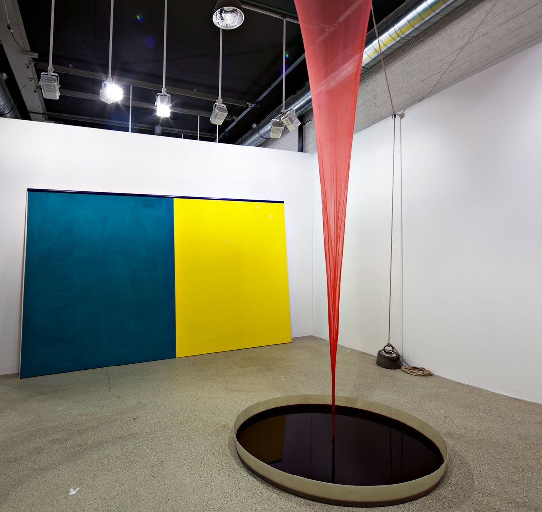 Herald St at Art Basel 2015. Photo by Alec Bastian for Artsy.