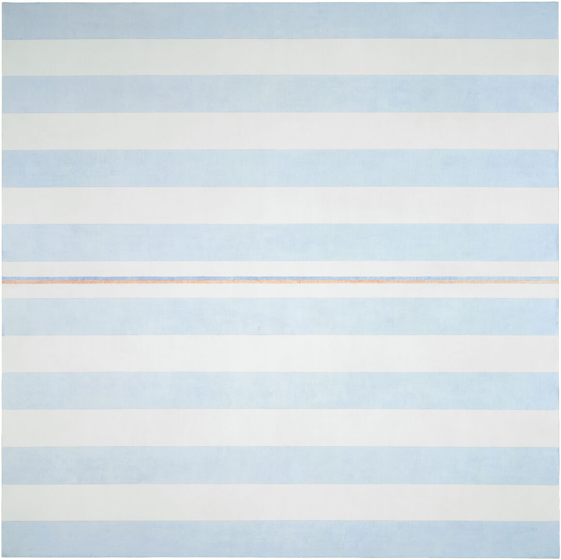 Agnes Martin, Blessings, 2000. © 2018 Estate of Agnes Martin /Artists Rights Society (ARS), New York.