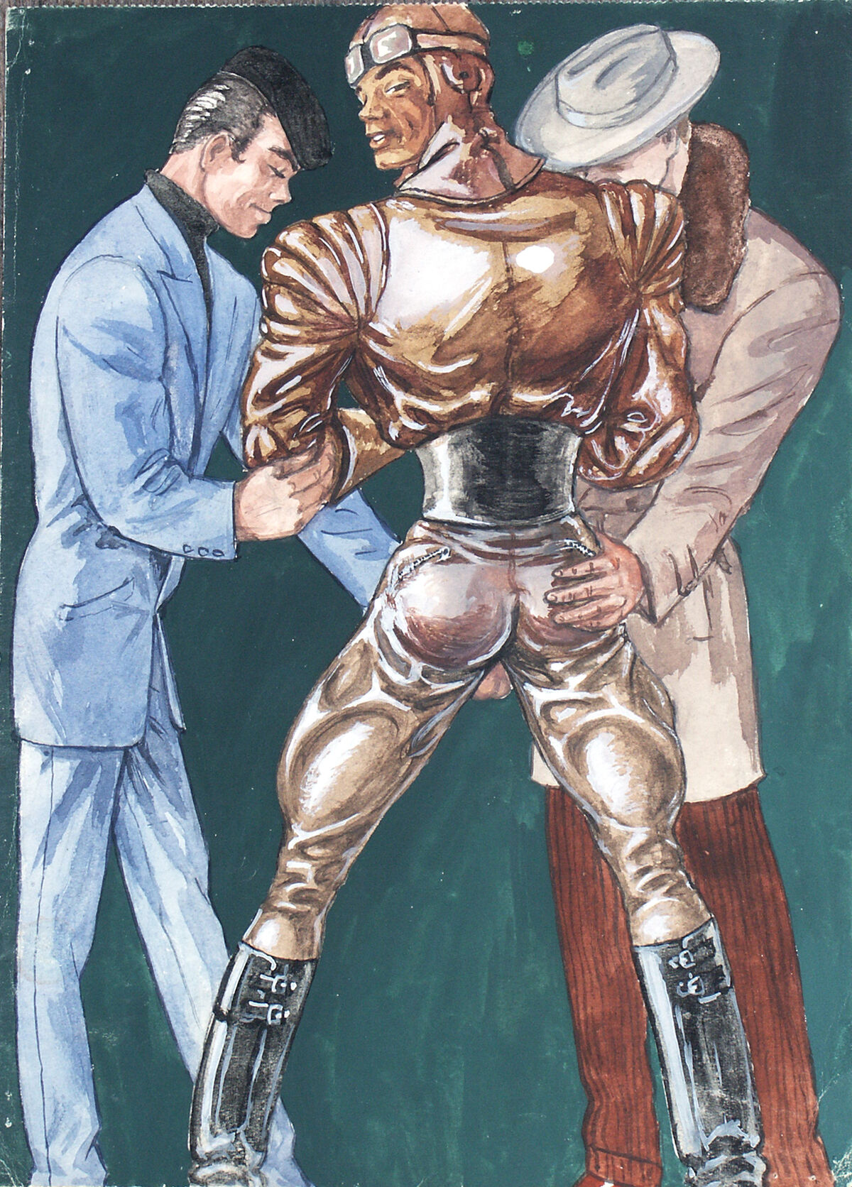 Tom of Finland, Untitled, 1947. Courtesy of the Tom of Finland Foundation and David Kordansky Gallery, Los Angeles, CA.
