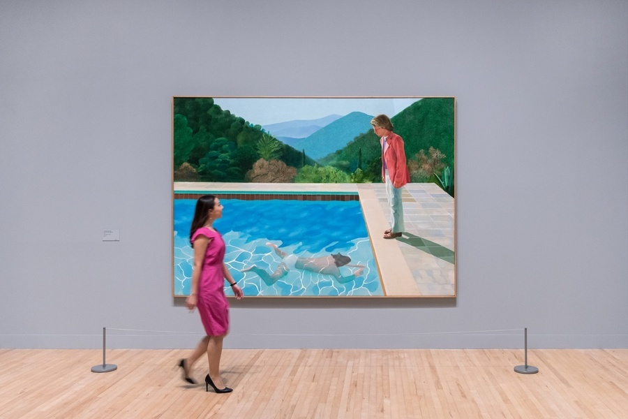 Artwork © David Hockney. Photo: Tate Photography. Courtesy of Tate.